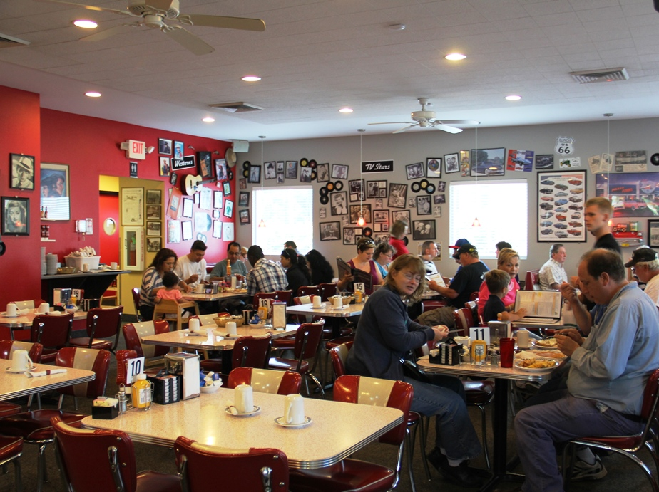 Relive the Fifties at Bristol 45 Diner