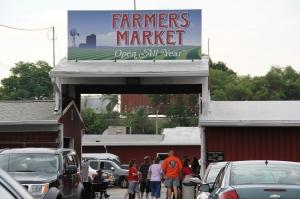 Market exterior