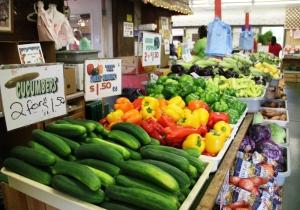 Veggies at South Bend Farmers Market
