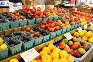 Fruit at South Bend Farmers Market