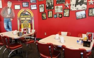 James Dean at the Bristol 45 Diner