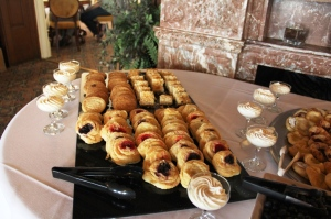 Dessert Pastries at Tippecanoe Place