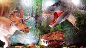 Dinosaur photo op