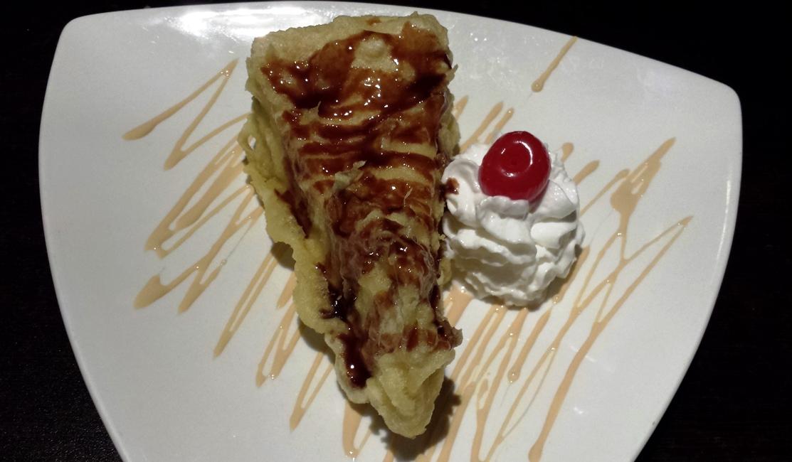 Tempura Fried Cheesecake