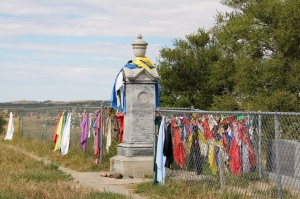 Wounded Knee graveyard
