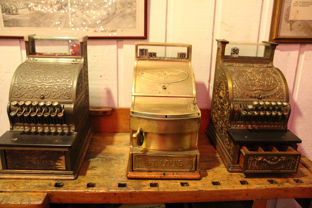 Anique cash registers