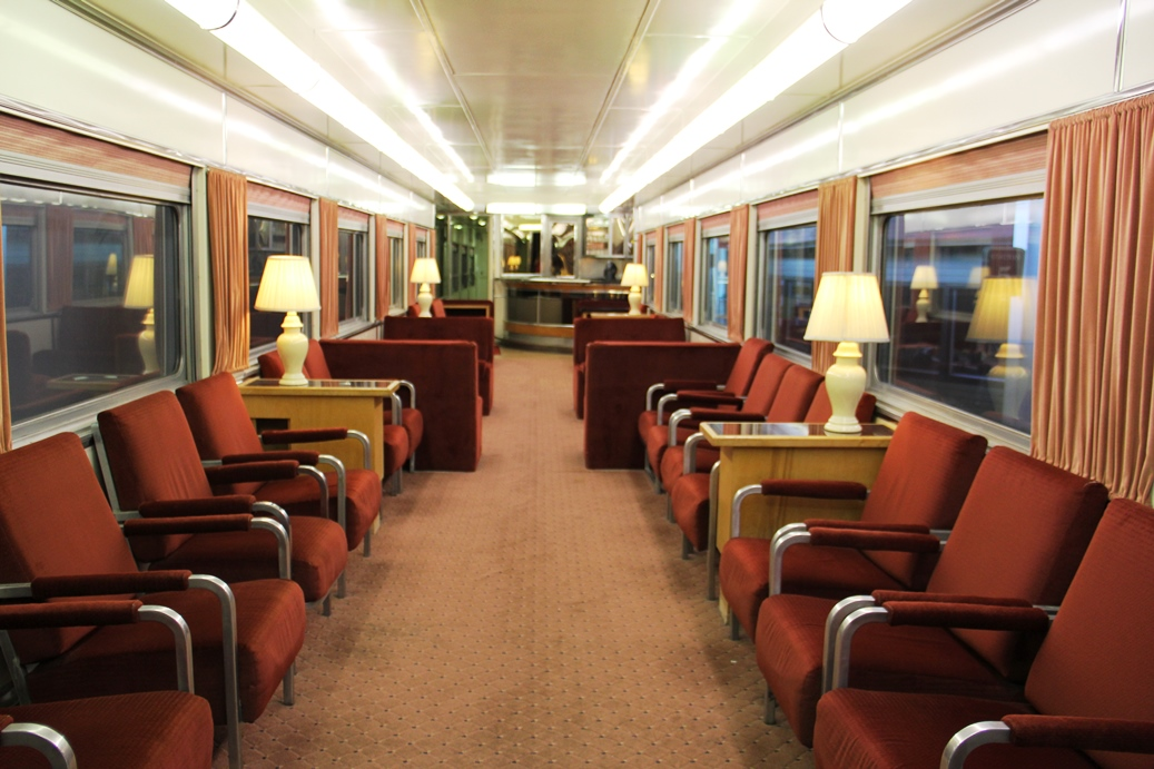 Union Pacific club car