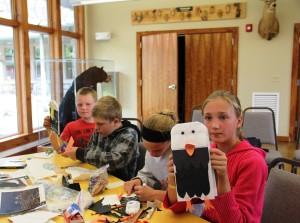 Kids owl project