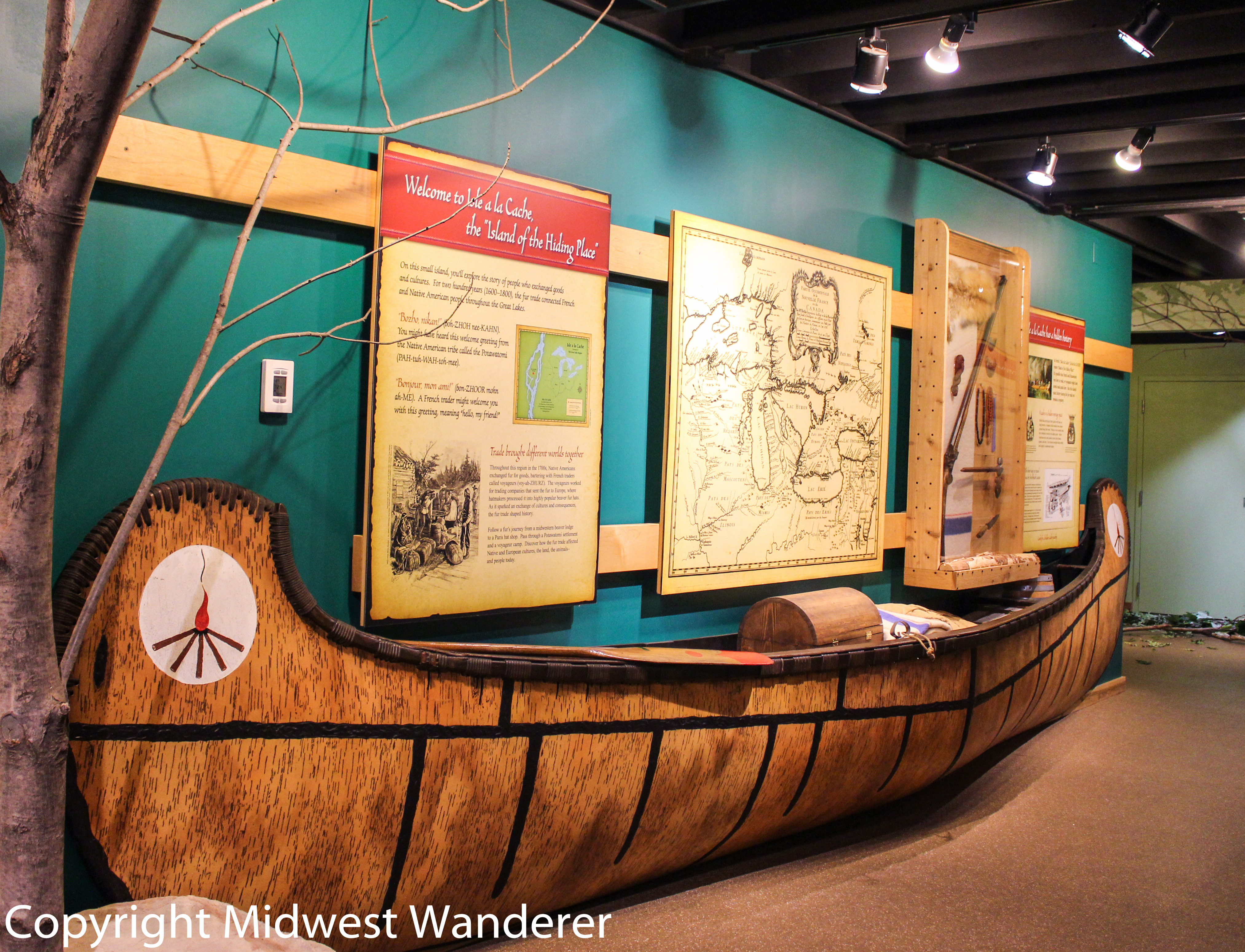 Isle a la Cache Museum: Discover the Fur Trade on the Island of the Hiding Place