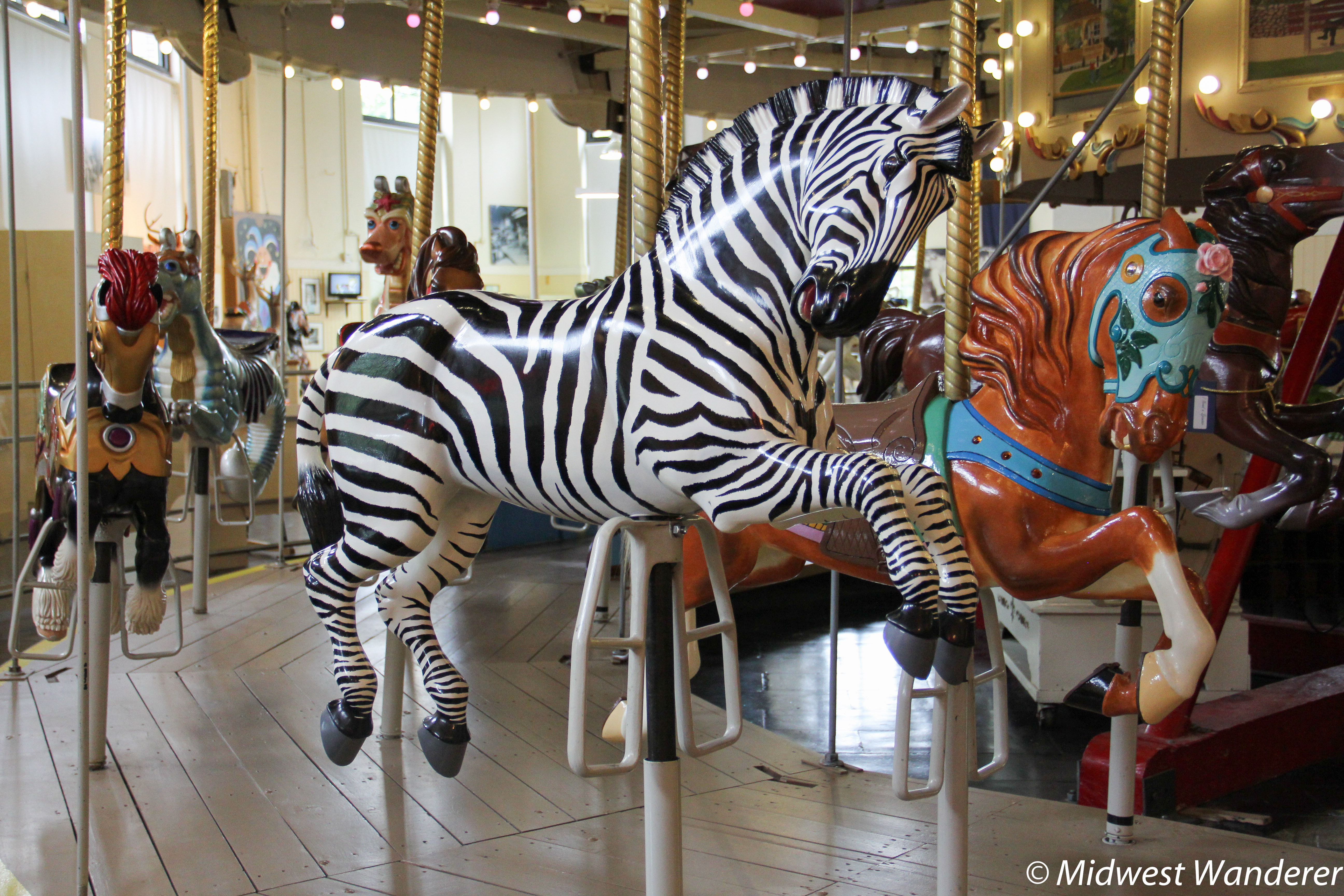 Discover the Romance of Yesteryear's Carousels at Sandusky's Merry-Go-Round Museum