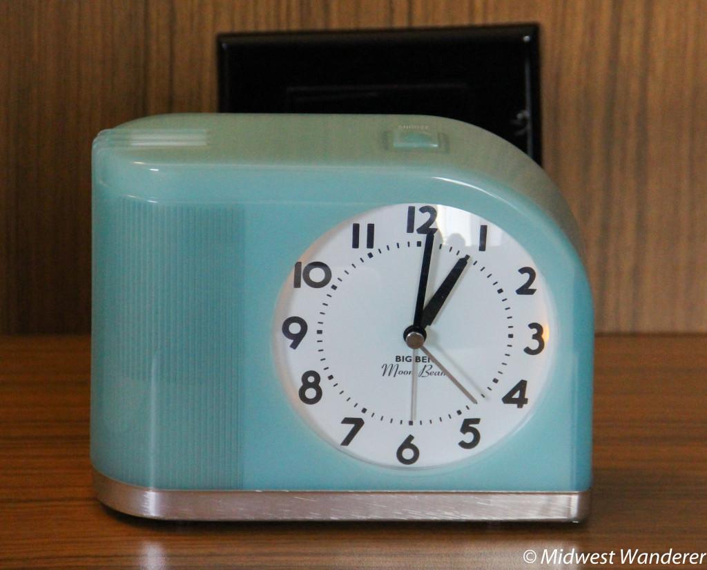 Art deco alarm clock