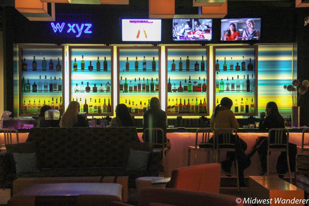 Evening at the Aloft Chicago OHare W XYZ Bar
