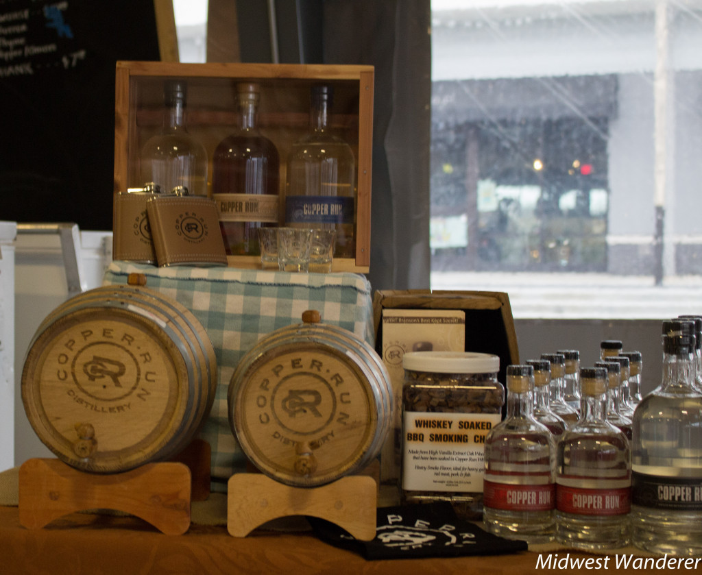 Farmers Market of the Ozarks moonshine