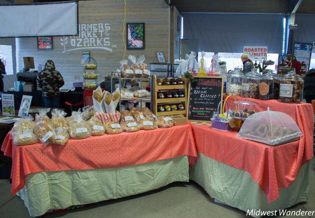 Farmers Market of the Ozarks fresh baked Bread, Springfield MO