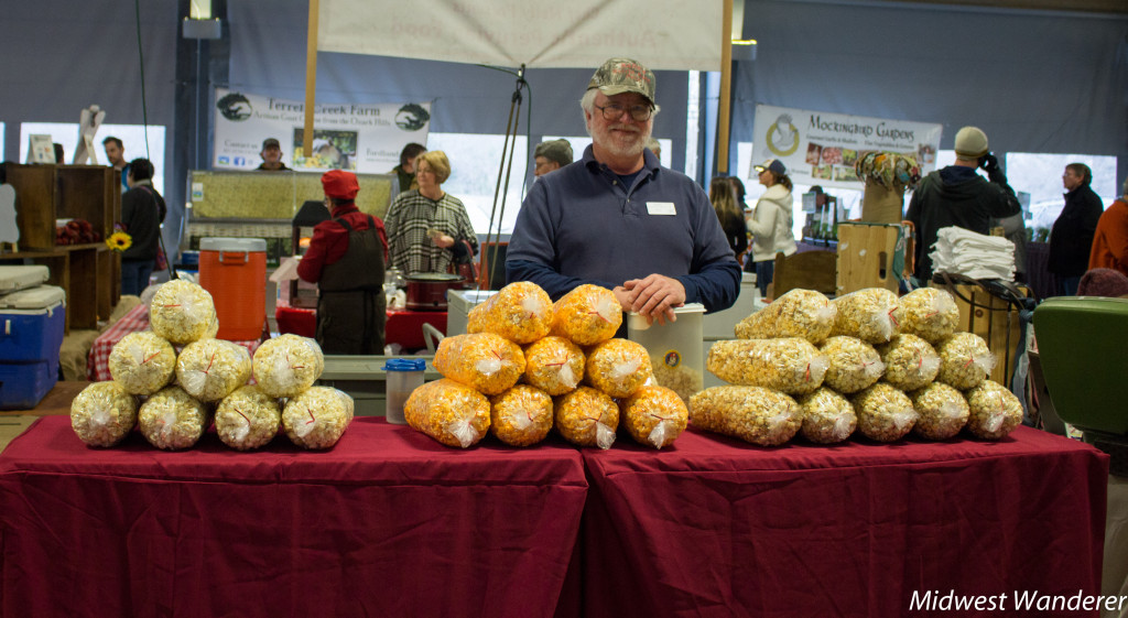 Nanas Kettle Korn sold at Farmers Market of the Ozarks