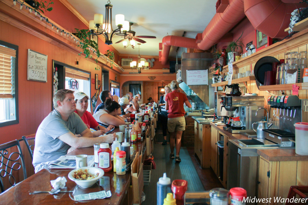Jeannie's Hosue Diner, South Bend, Indiana