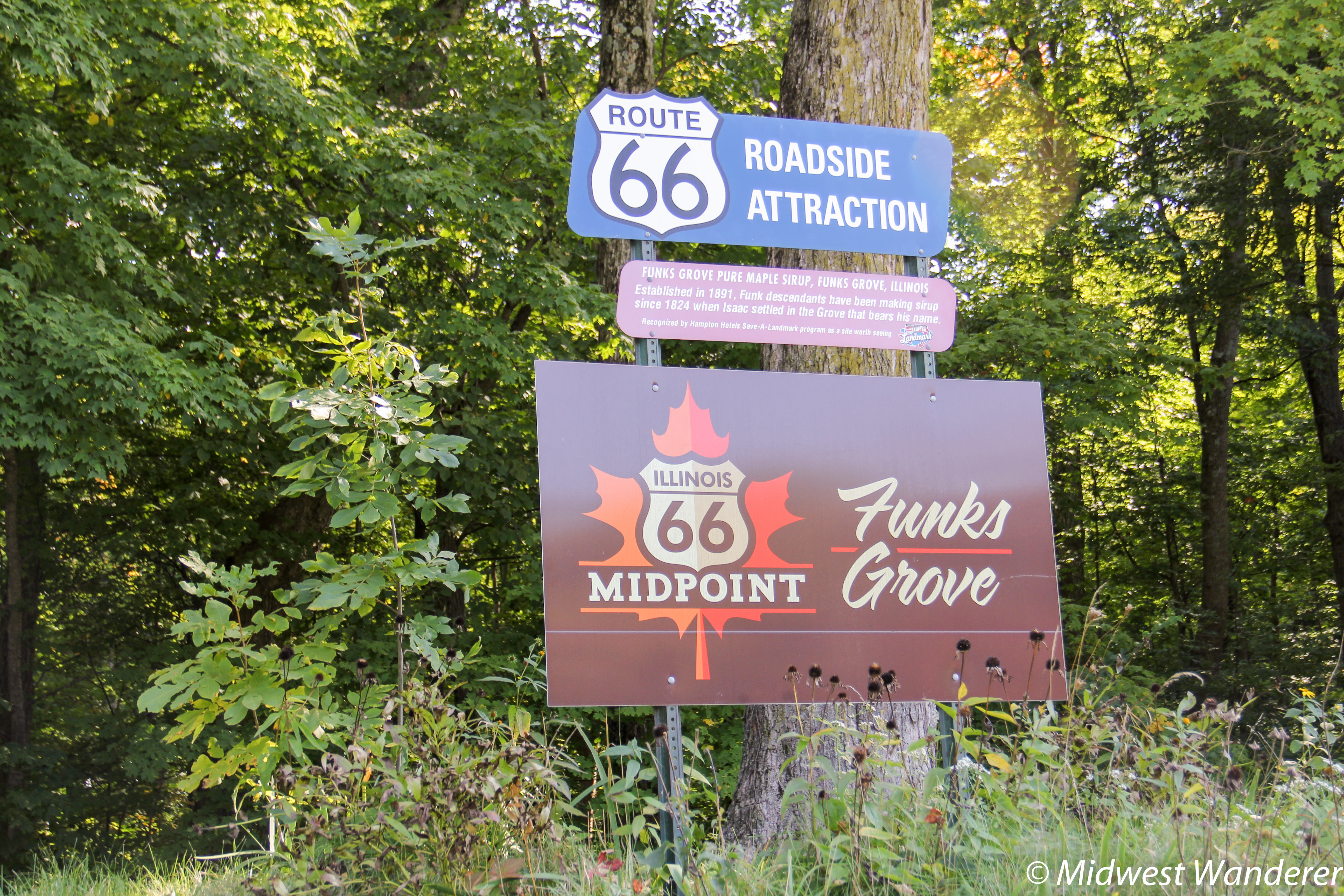 Funks Grove: Pure Maple Sirup on Route 66