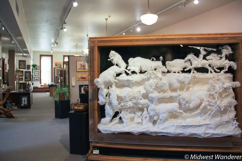 Art gallery in Prairie Edge