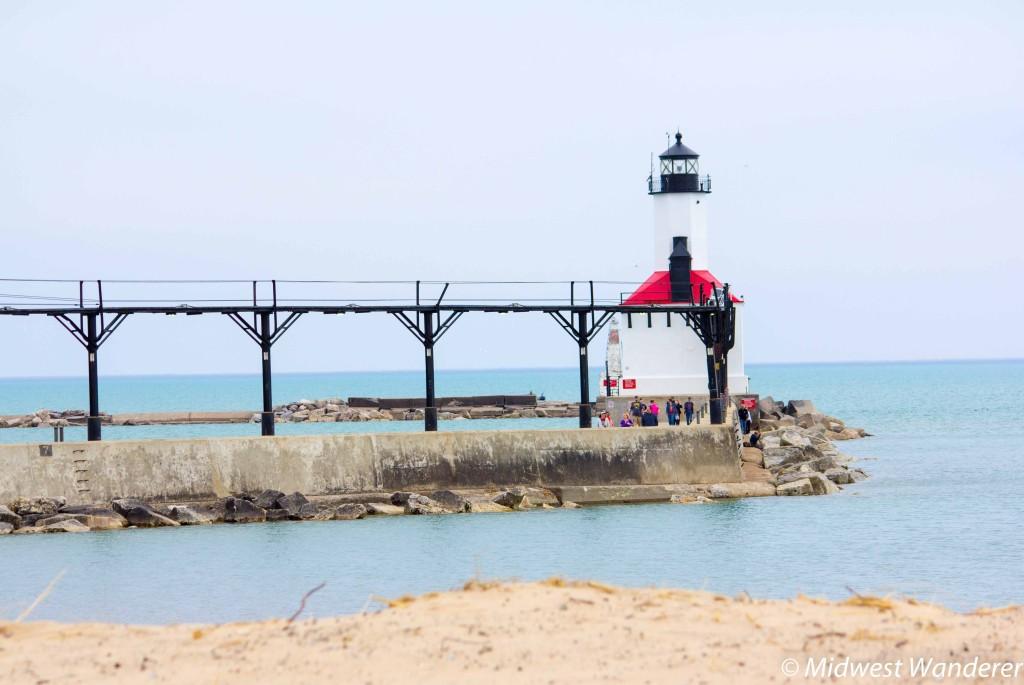 Pier at Michigan City