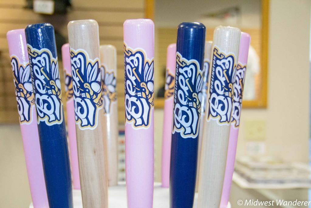 Souvenir baseball bats