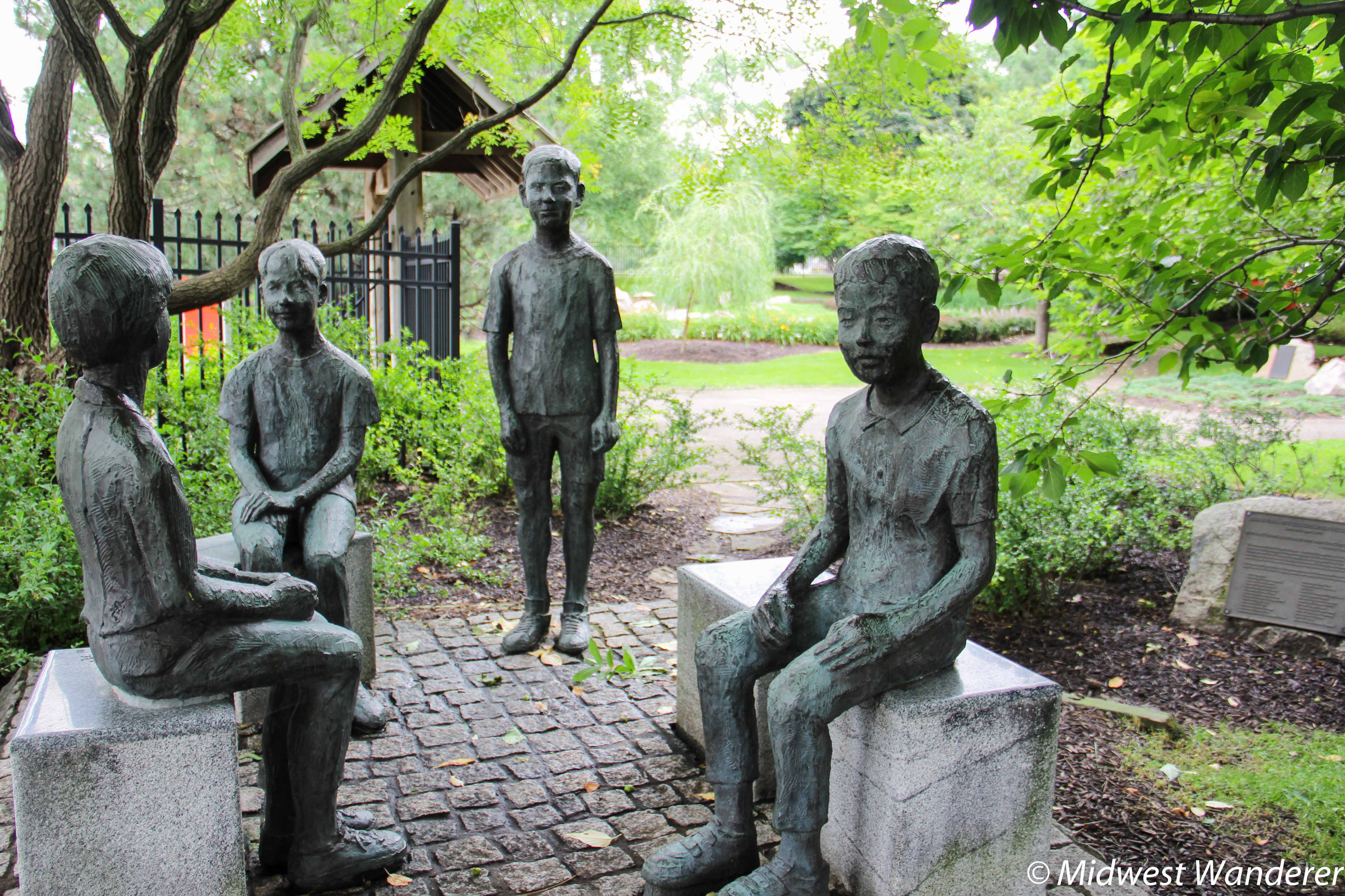 Statue In Shiojiri Niwa