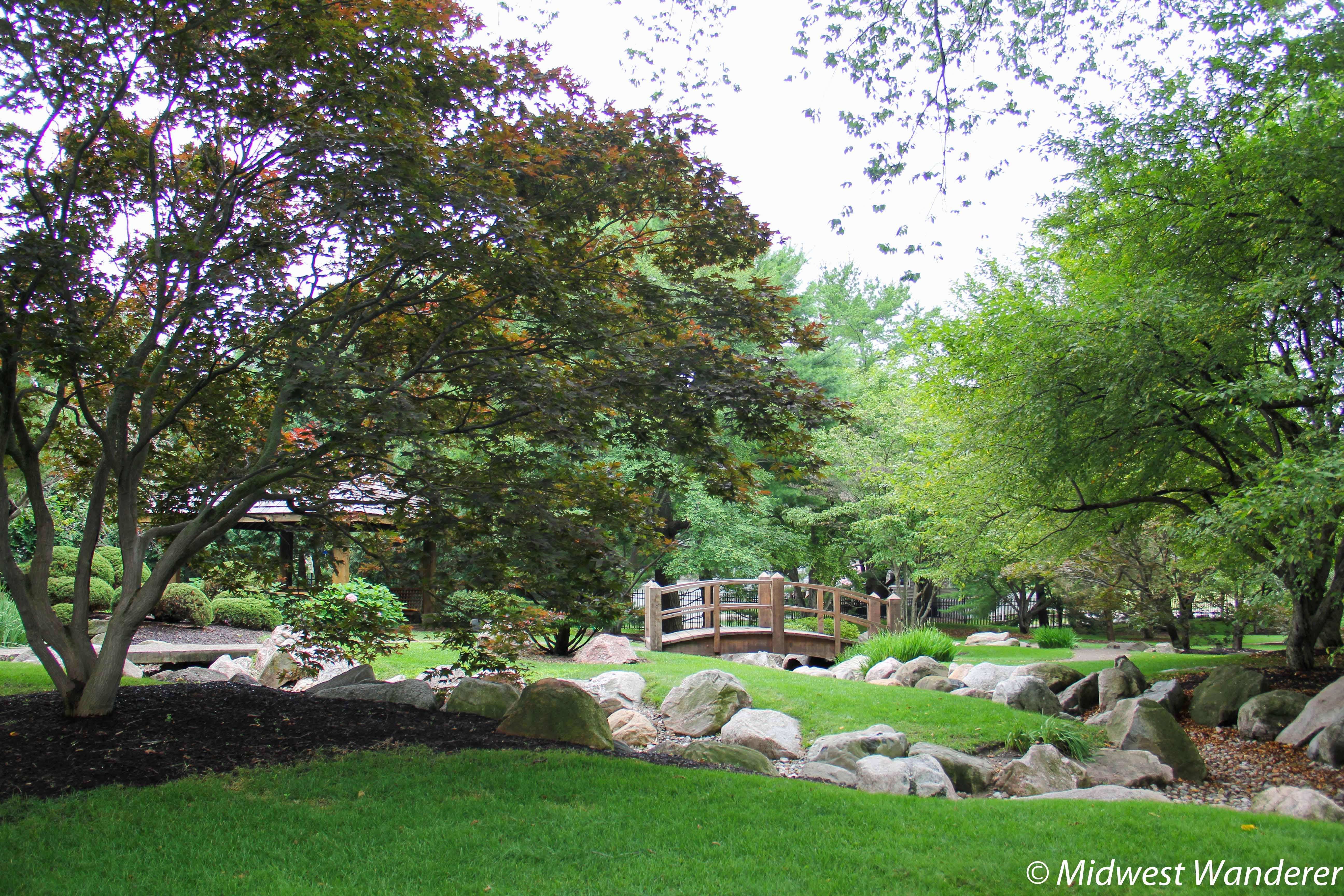 Shiojiri niwa japanese garden midwest wander for The japanese garden