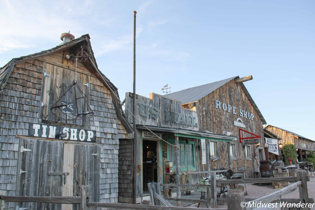 Fort Hays Old West town