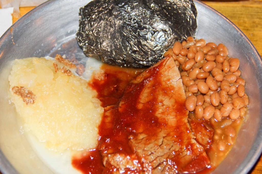 Chuckwagon dinner