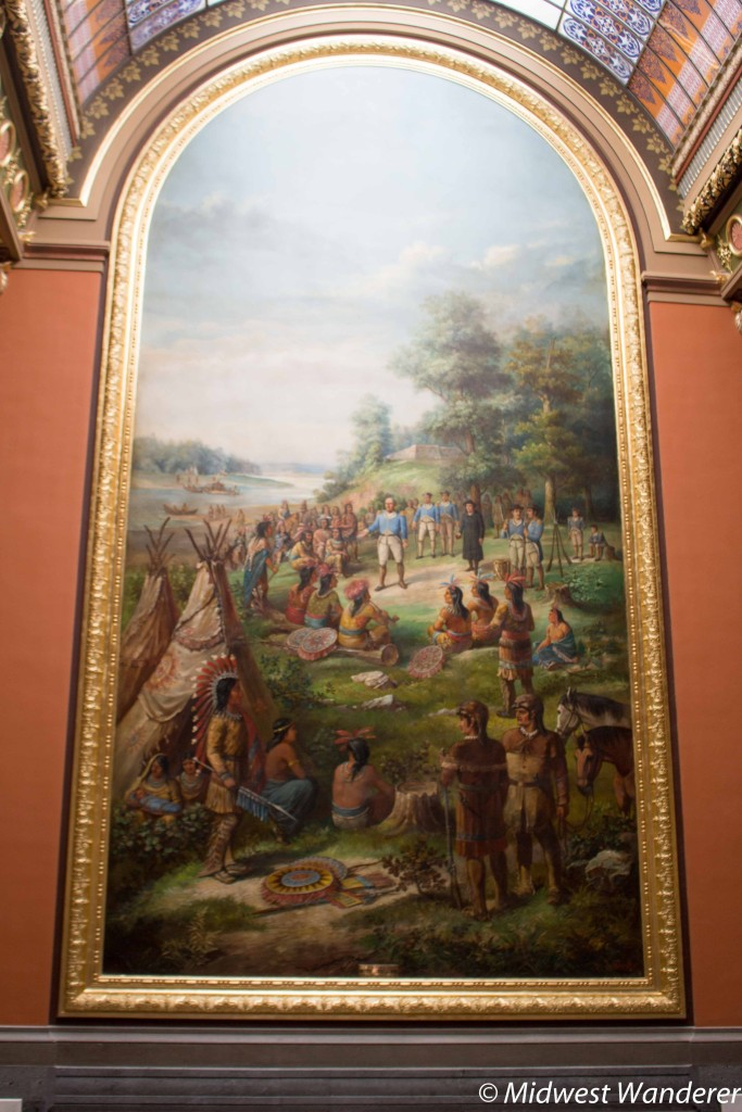 Painting in the Illinois State Capitol