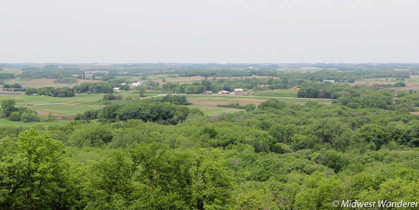 View from Pilot Knob