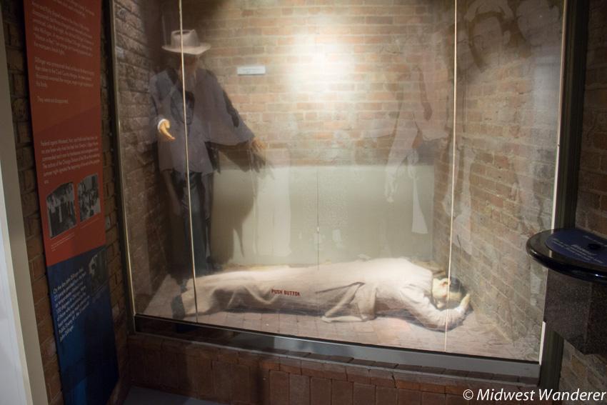 John Dillinger's body