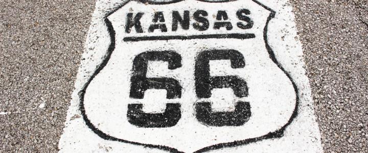 Route 66 through Kansas