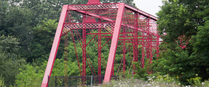 Historic Bridge Park: 5 Restored Truss Bridges in One Location