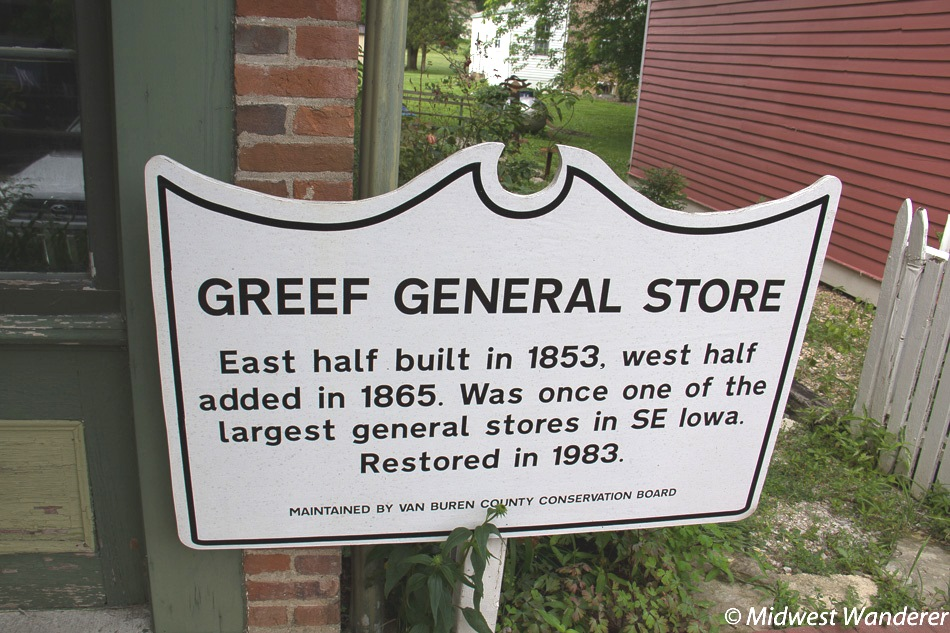 Greef General Store sign