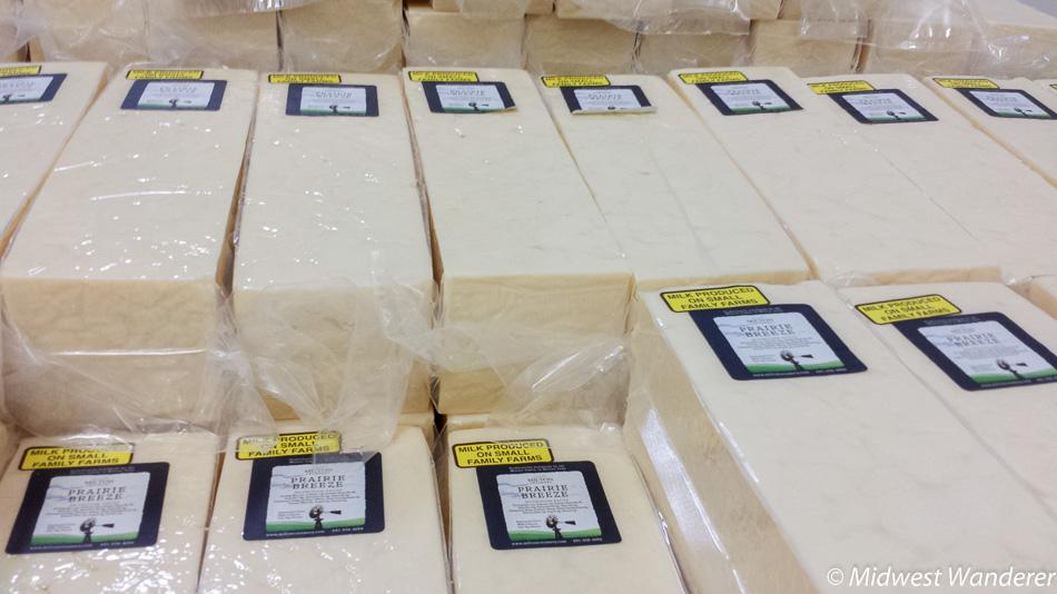 Prairie Breeze cheese
