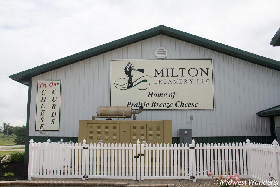 Milton Creamery exterior