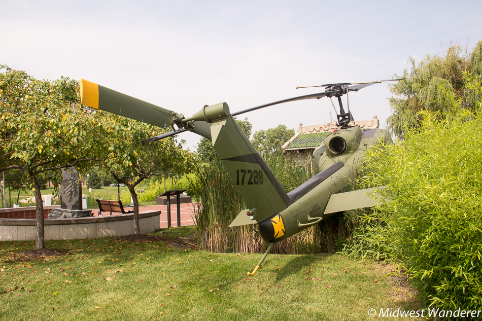 helicopter tail