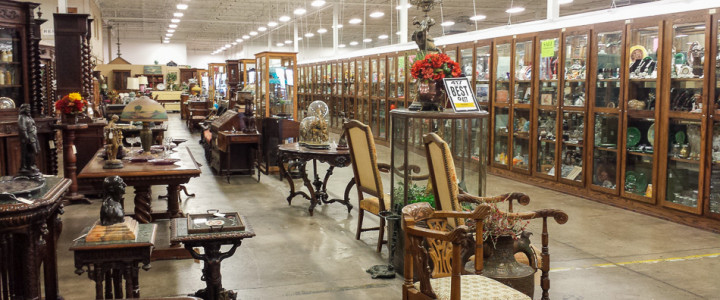 Relics Antique Mall and Tea Room: Largest Antique Mall in Missouri