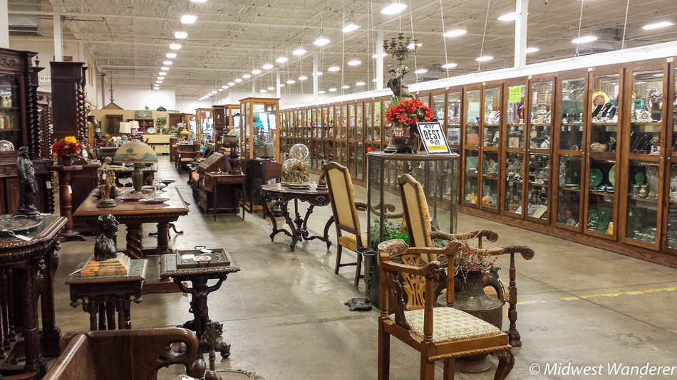 Antique Furniture, Relics Antique Mall