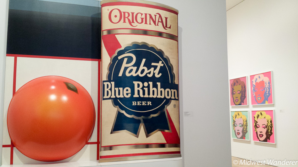 Wesselmann PBR painting, Milwaukee Art Museum