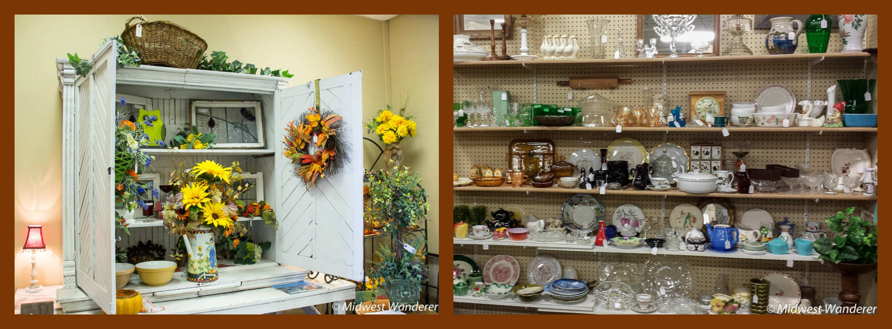 antique mall vendor booths