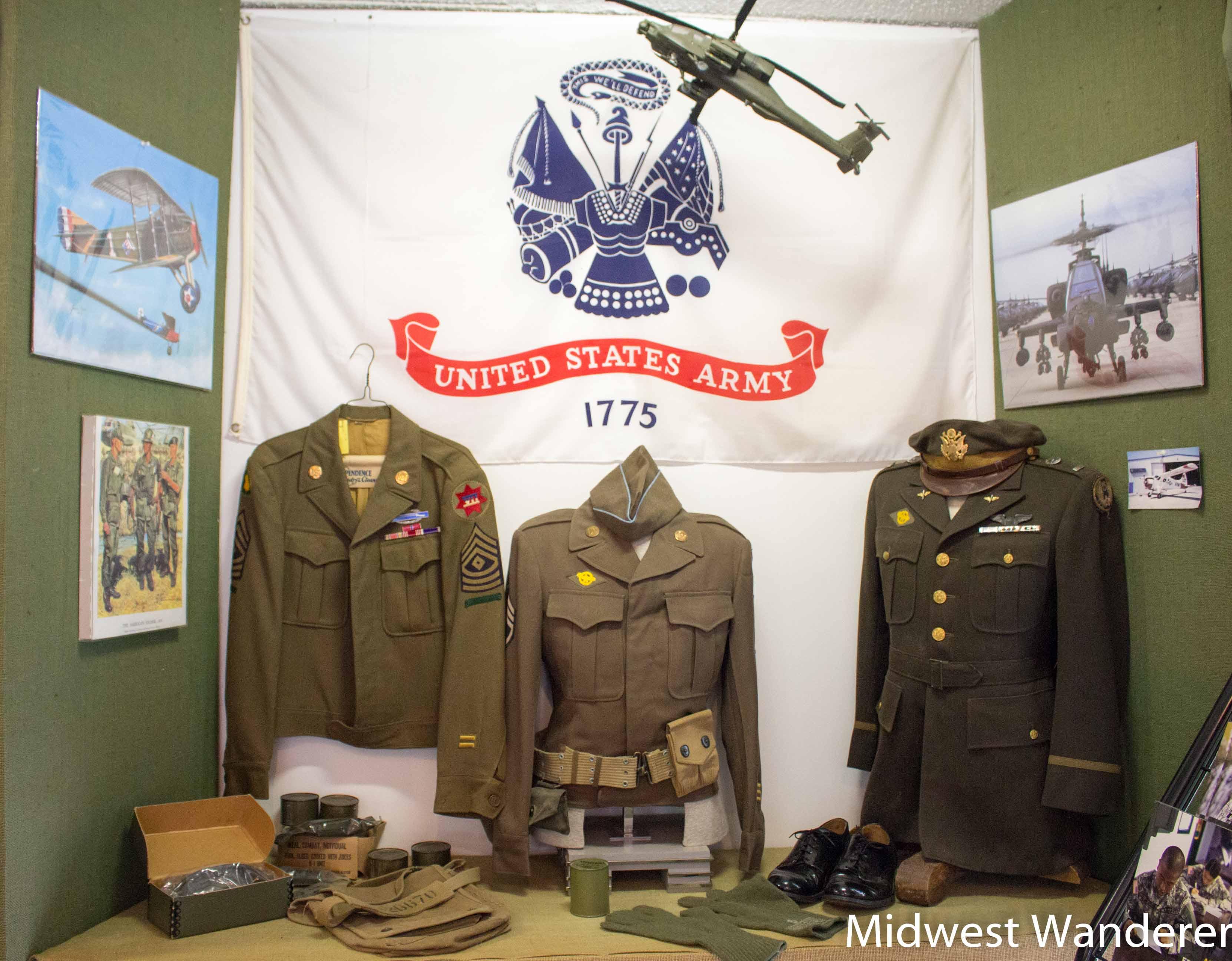 military unitforms