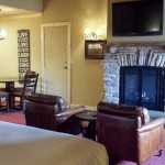 Sierra Nevada Resort and spa fireplace room