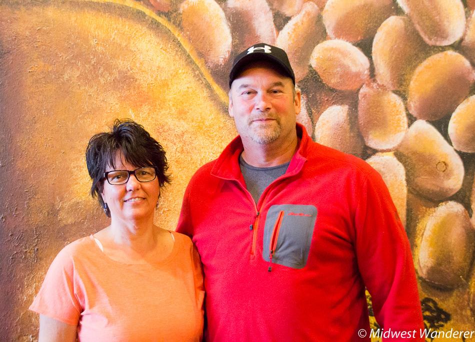 Joel and Kathy Heuer, Rustic Brew