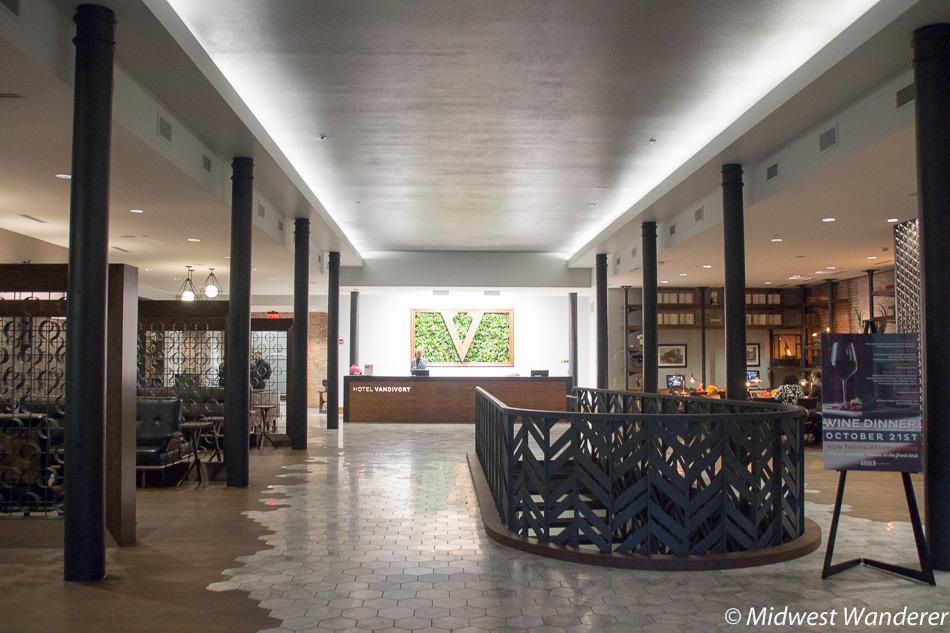 Hotel Vandivort lobby