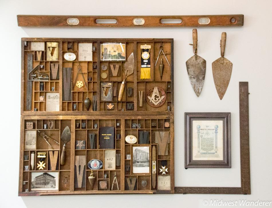 Masonic memorabilia