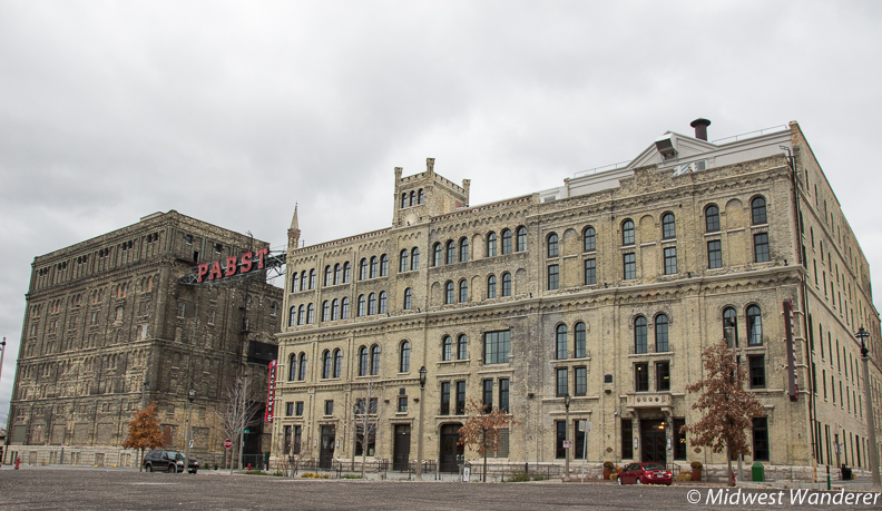 Pabst Brewery building