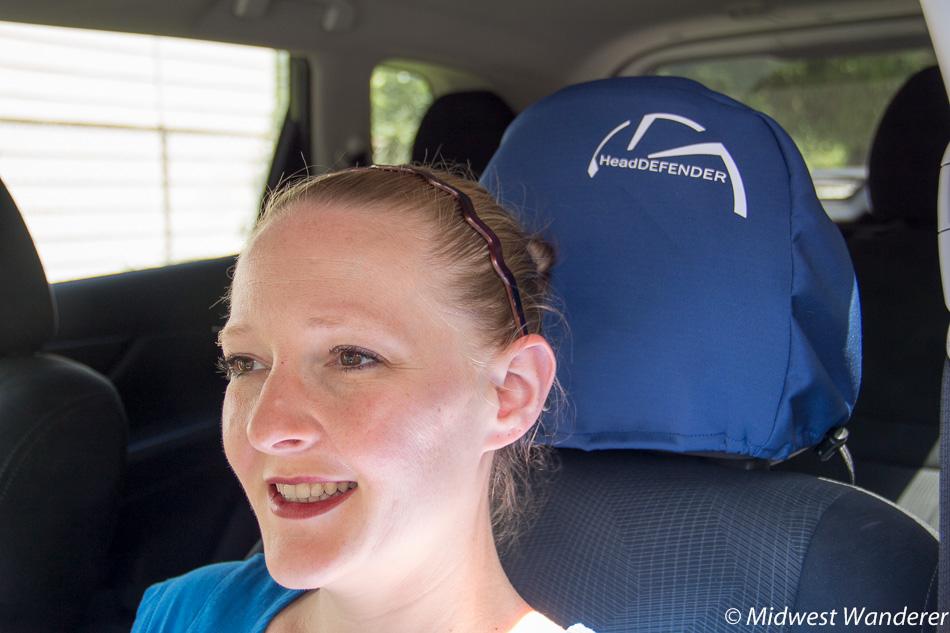 Head DEFENDER on headrest
