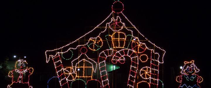 Du Quoin Holiday Lights Fair: Drive-Through Lights, Indoor Festival