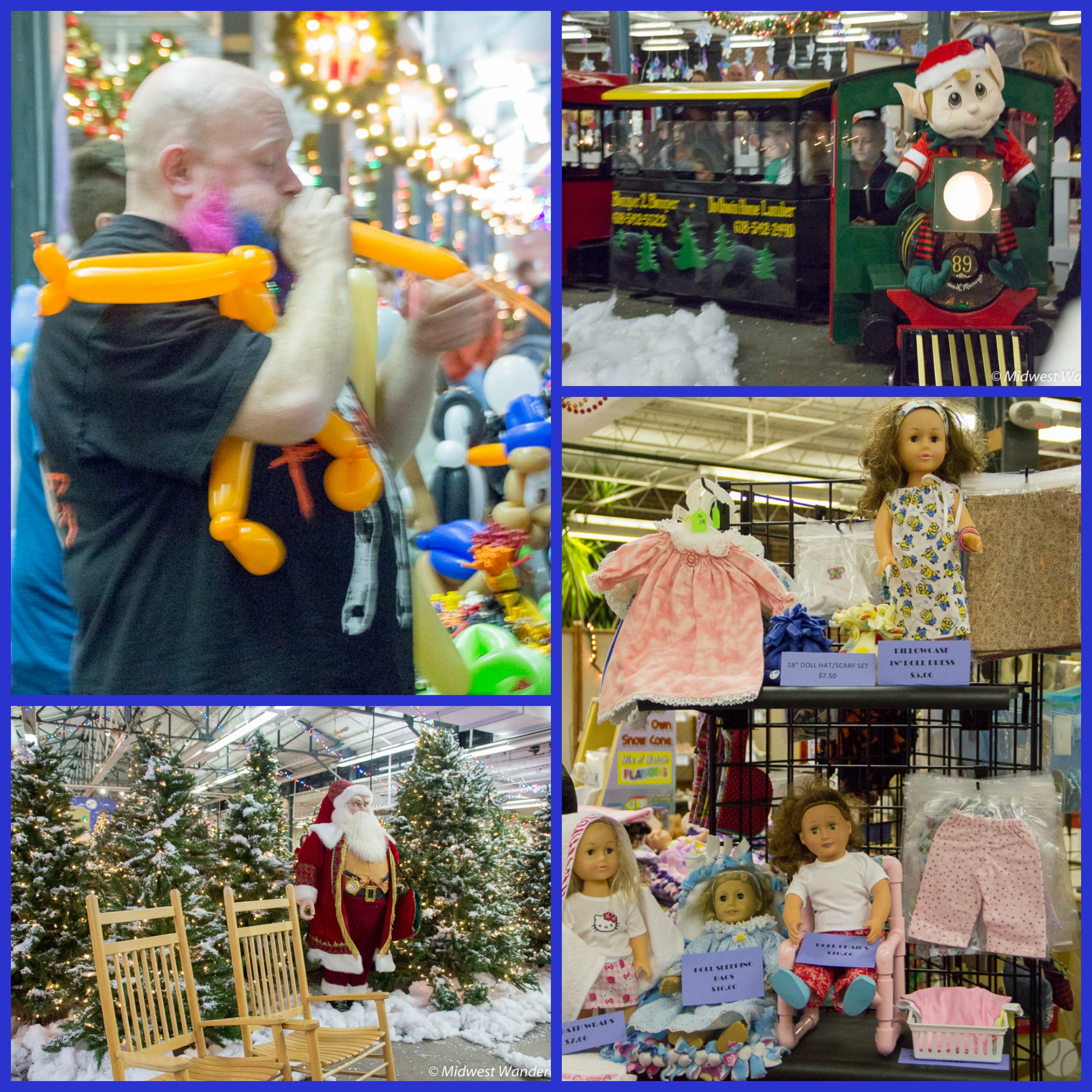 Du Quoin Holiday Lights Fair - indoors